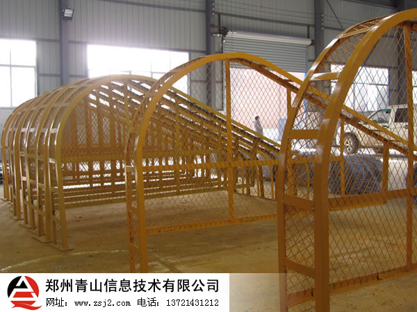 对辊式制砂机防护网