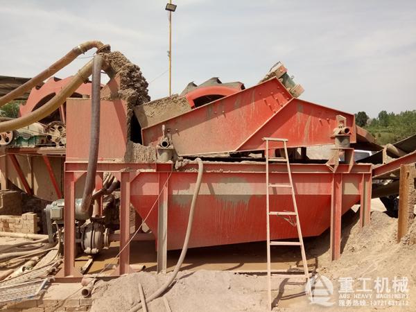 石粉洗砂+细砂回收生产线