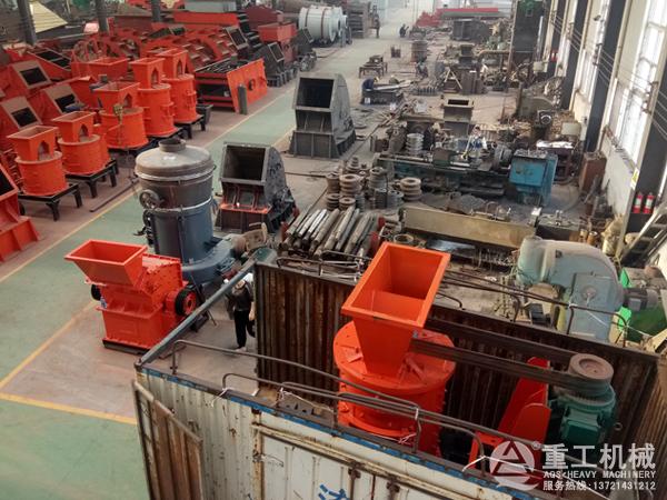 高耐磨性立式板锤复合制砂机发货