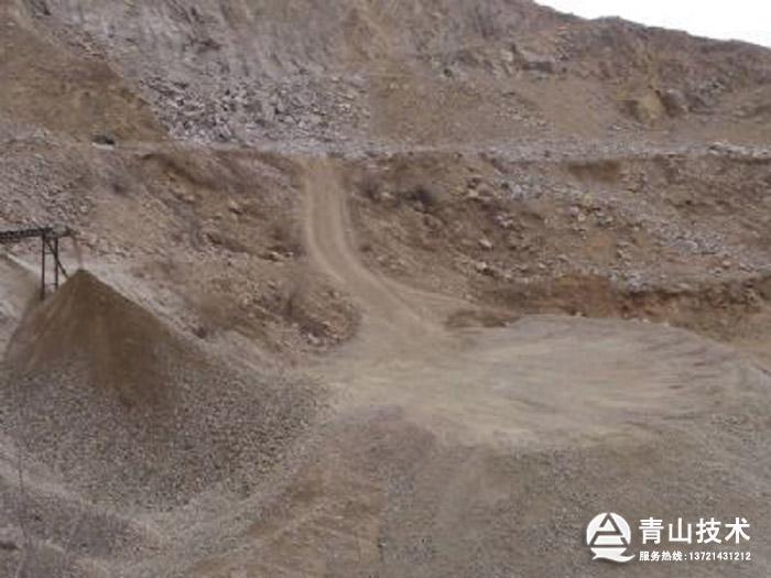 风化麻古石制砂机