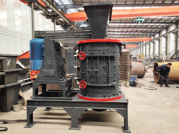 1000型立式板锤制砂机